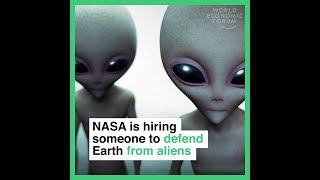 NASA is hiring someone to defend Earth from aliens thumbnail