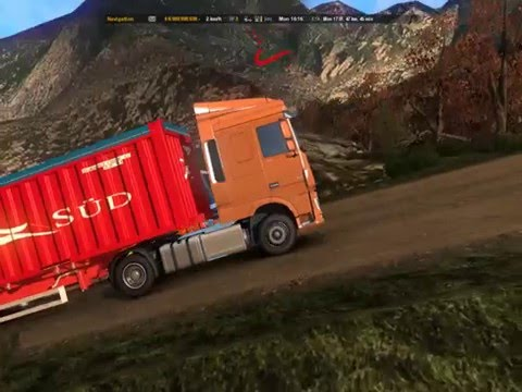 ETS 2 | Truck DAF XF Euro 6 Melahap Jalanan Extreme Berlin