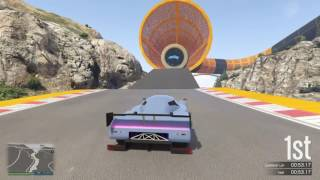 GTA 5 Online - 3 World Records in 3 Laps - $100K Premium Stunt Race