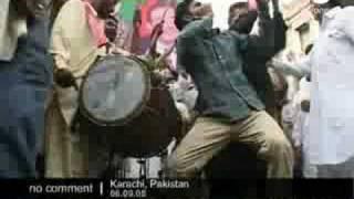 Celebrations in Pakistan as Asif Ali Zardari elected president