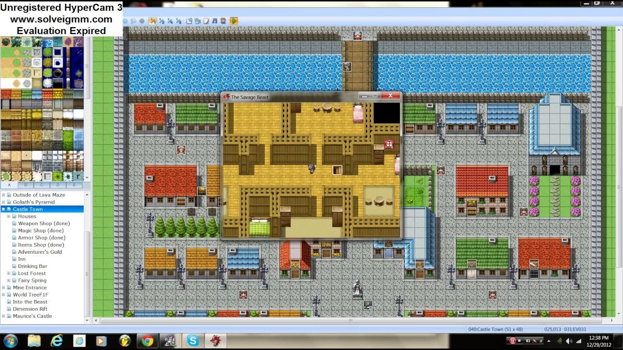 RPG MAKER VX ACE: Advance Tutorial Part 2 (Buying Houses)