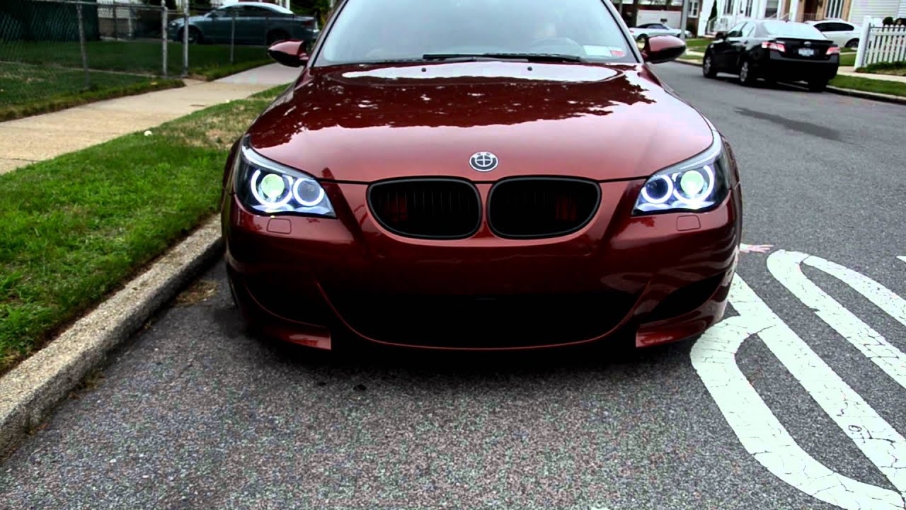 Worksheet. My BMW Indianapolis Red E60 M5 w blacked out headlights and Orion