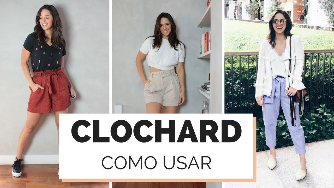 e1894541f COMO USAR CLOCHARD - SHORTS, SAIA E CALÇA | MARI FLOR - YouTube