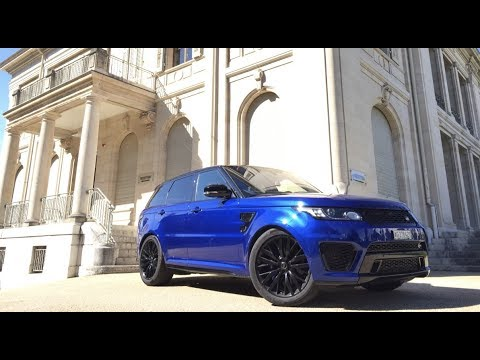 RANGE ROVER SVR SPORT 2017 Test & Review, Sound, Acceleratio