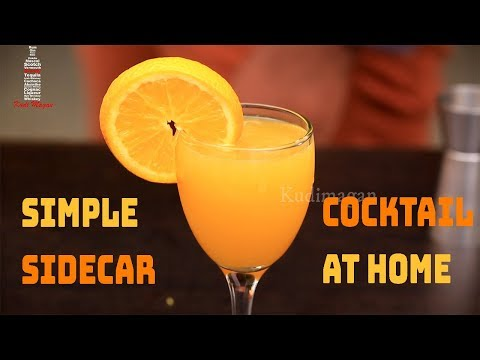 Simple Sidecar Cocktail at Home   Variations   Classic Brandy Cocktail