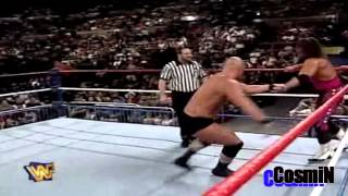 Bret Hart vs Stone Cold Highlights HD - Survivor Series 1996