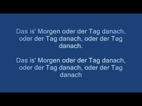 Johannes Oerding - Morgen lyrics