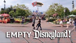 Empty Disneyland!