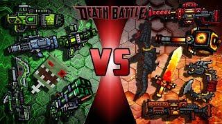 Poison Weapons VS Fire Weapons - Pixel Gun 3D