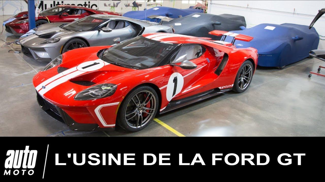 Usine De La Ford Gt A Toronto Chez Multimatic Par Auto Moto Com