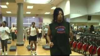Lucie Bs Jump Rope N' Abs @ Ballys Total Fitness -23rd st-nyc