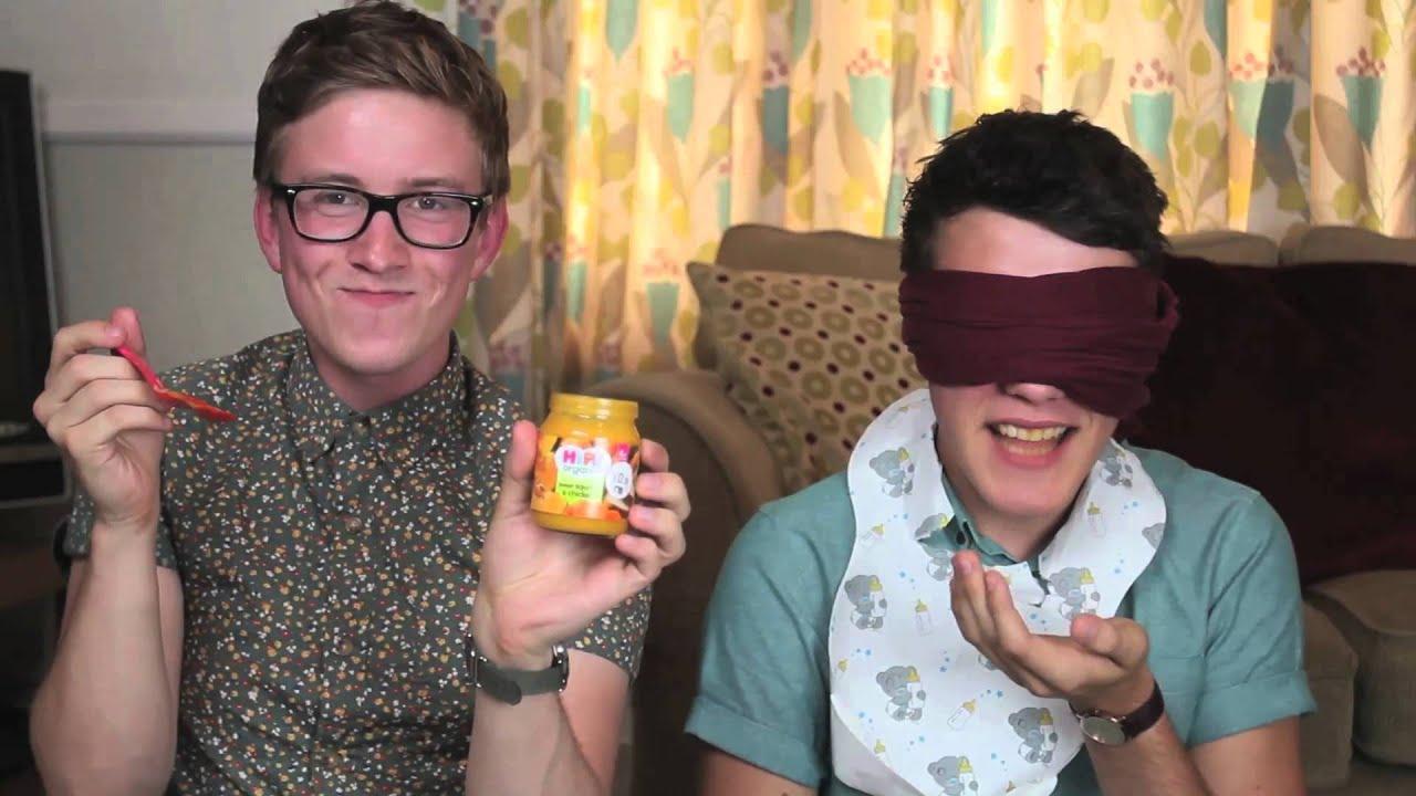 Baby Food Challenge Tyler Oakley Youtube