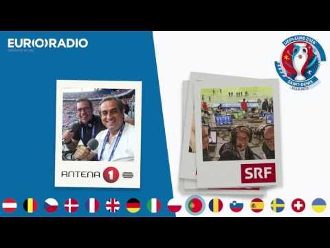 Euroradio at the UEFA EURO 2016 Final: Portugal vs France