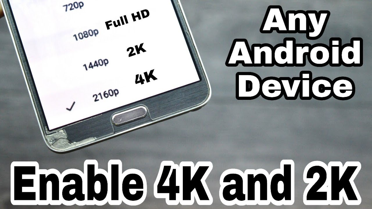 Enable 4K and 2K Videos On Youtube In Any Android Device (Root) (Urdu-Hindi)