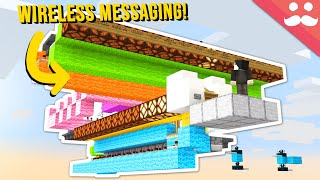 WIRELESS Messaging in Minecraft 1.17