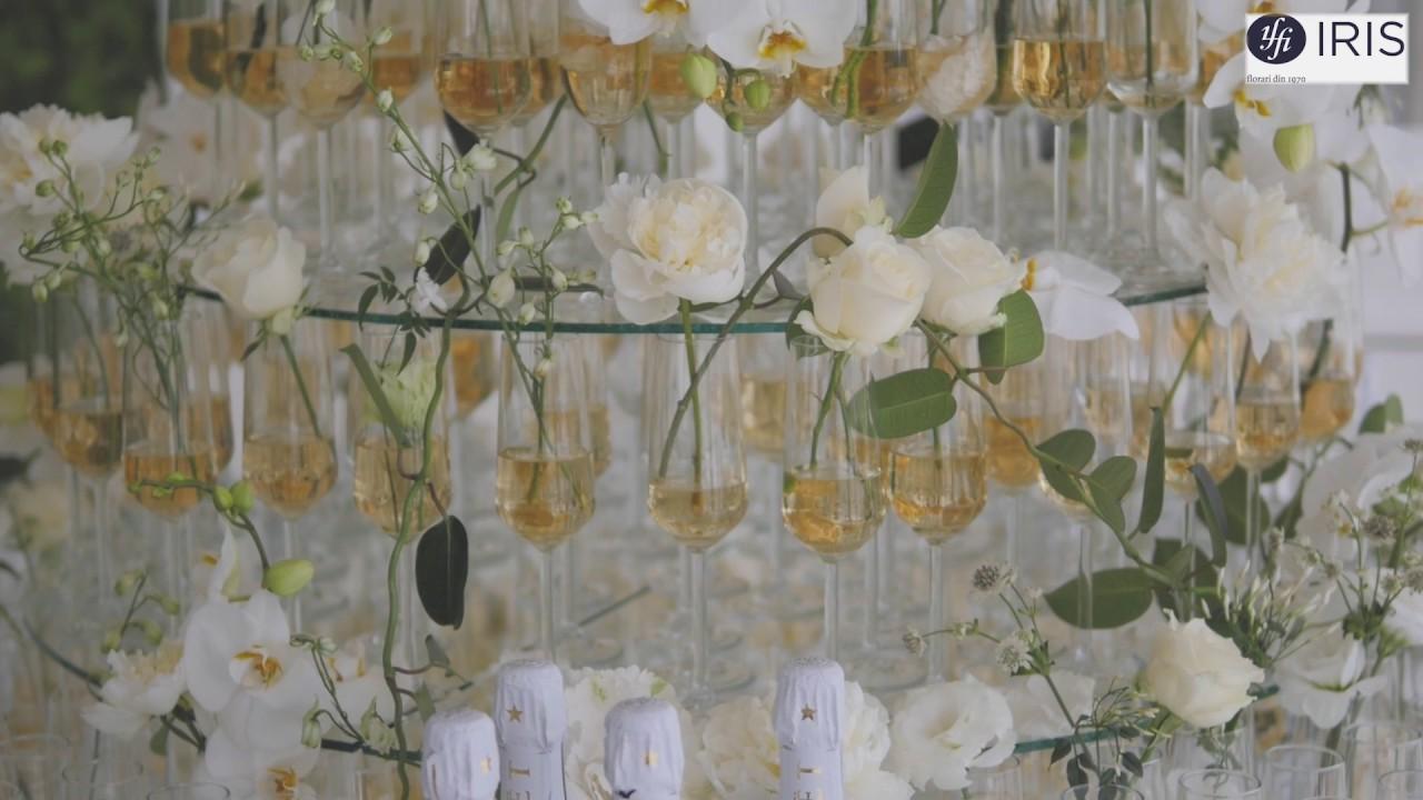 Floraria Iris Aranjamente Florale De Nunta Ballroom Capitol Iasi