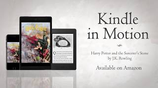 magic in motion – harry potter and the sorcerers stone kindle in motion edition