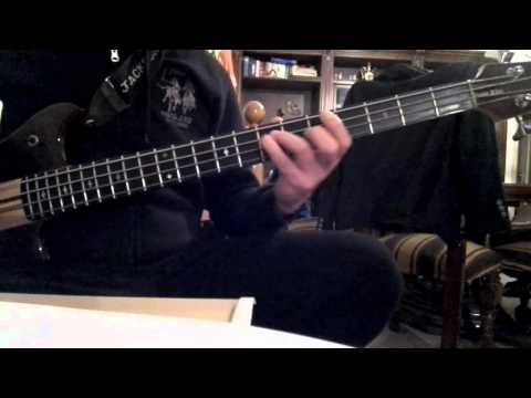 exercise for bass of master Federico Malaman - Groove
