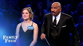 Troy and Hayley play Fast Money for The Goldbergs  Celebrity Family Feud