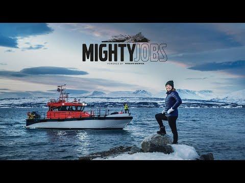 Volvo Penta – Mighty Jobs – Piloting The Arctic Seas Of Norway