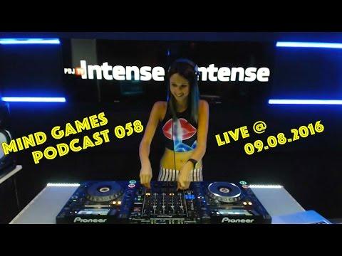 Miss Monique - Mind Games Podcast 058 (Live, Radio Intense 09.08.2016)