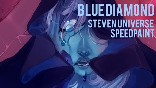 DIAMONDS ARE FOREVER | BLUE DIAMOND | STEVEN UNIVERSE [Speedpaint]