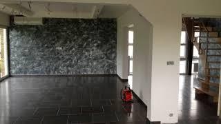 Haute Décoration dun séjours et la cage      WpDeco Peinture Béziers Peintre en bâtiments Béziers