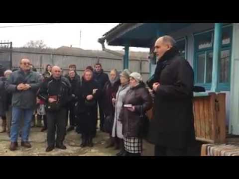 Serviciul de înmormântare a mamei Vera Solonaru din Lăpușna | 25 decembrie 2016