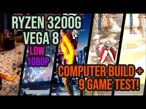 Ryzen 3 - 3200G Build Review! + 9 GAME Esports Mega Benchmark!