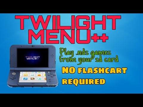 OUTDATED (read description) How to install and use Twilight Menu++  A DS