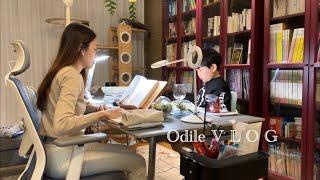 vlog • 초등맘 일상 • 같이 공부해요 • 거실 북…
