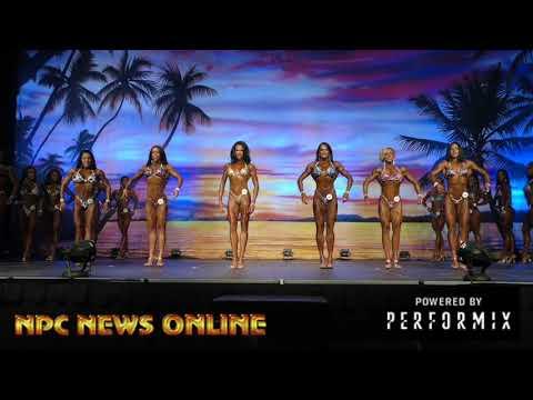 2018 IFBB Europa Orlando Prejudging: Women's Figure Prejudging