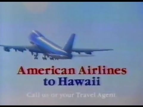 1982 American Airlines Hawaii Commercial