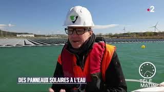 Download lagu Les panneaux solaires flottants d'Akuo Energy // Akuo Energy floating solar panels