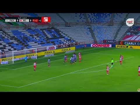 Gol de D. Cabrera   Pachuca 0 - 1 Necaxa   Liga MX - Guardianes 2020  - Jornada 17   LIGA BBVA MX