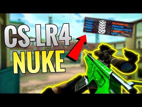 [Bullet Force] CS-LR4 Sniping Nuke on Woods