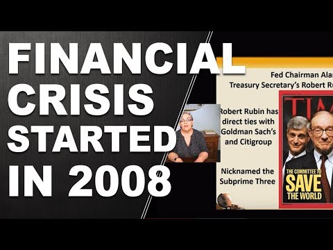 The Financial Crisis Started in 2008. Derivatives Bubble, Glass-Steagal and Economic Crisis!