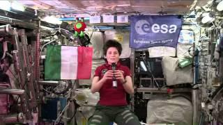 Expedition 42 - Samantha Cristoforetti parla con gli studenti a Roma