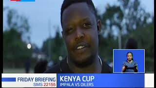 KCB Rugby Team faces off with the Kisumu side