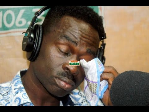 Yaw Sarpong Sheds Tears at ADOM FM as he narrated how God saved him miraculously