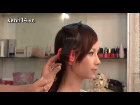 """2 xì-tai tóc dễ thương """"chơi"""" Trung Thu"""