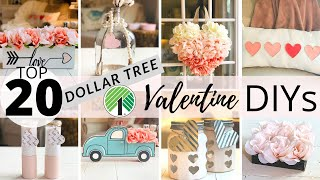TOP 20 Dollar Tree DIY Valentines Decor 💕