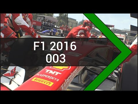 Let's Play F1 2016 [Deutsch] #003 GP von Bahrain 1/2
