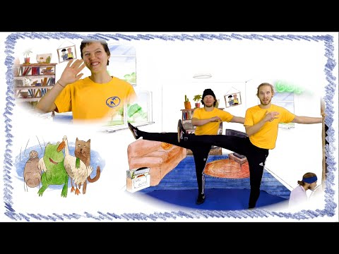 Move in New Ways! Exercise for Kids | Capoeira workout for Children + Parents | Home learning