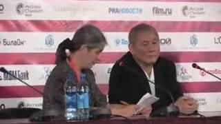 Прессконференция с Такеси Китано...