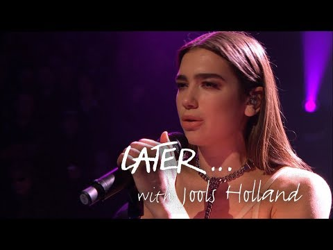 Dua Lipa- Homesick - Later… with Jools Holland - BBC Two