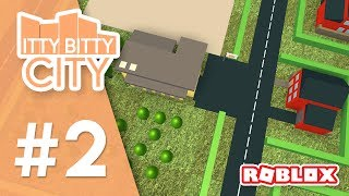 Itty Bitty City #2 - BUILDING A SCHOOL (Roblox Itty Bitty City)