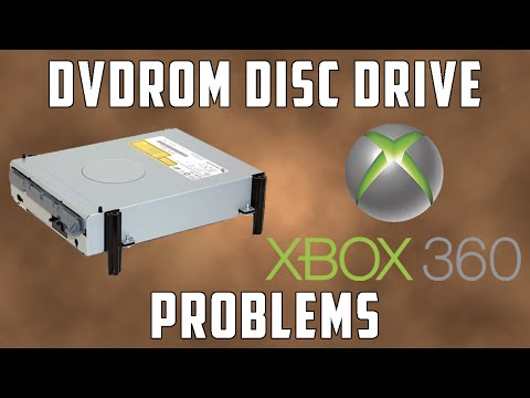 Dvdrom Disc Drive Problems on the Xbox 360