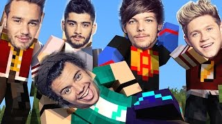 Minecraft Mods - MORPH HIDE AND SEEK - ONE DIRECTION MOD