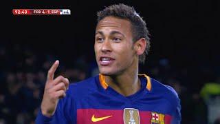 Neymar vs Espanyol (Home) 15-16 HD 720p (Copa Del Rey) - English Commentary
